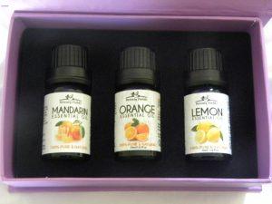 3 citrus essential oils